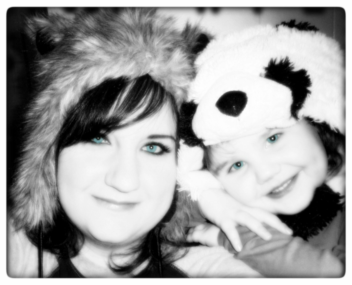 me and izz in hats
